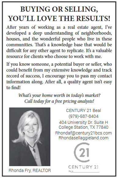 Great Real Estate Agent in College Station, TX, Real Estate Agents